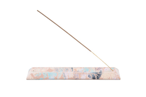CONCRETE INCENSE HOLDER - PEACH