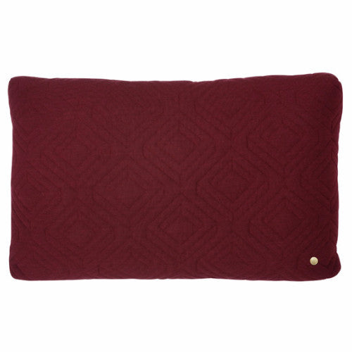 BORDEAUX QUILT CUSHION
