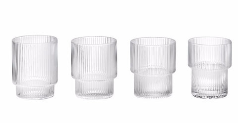 RIPPLE GLASS SET