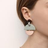 KINETIC EARRINGS - SEA MIST