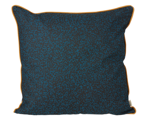 Terazzo Cushion Dark Blue