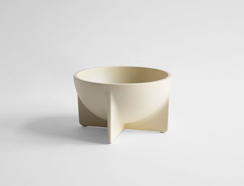 STANDING BOWL - SMALL CREAM
