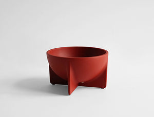STANDING BOWL - SMALL SIENNA