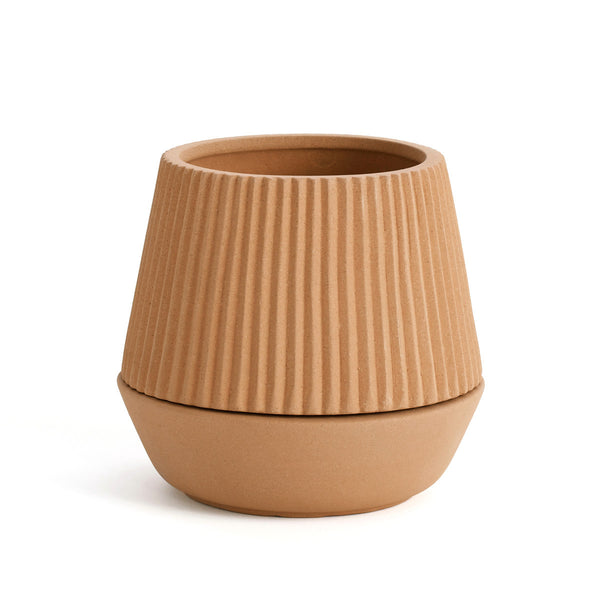 PLEATED PLANTER