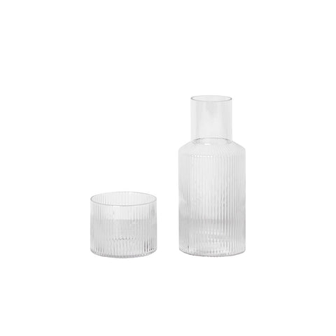RIPPLE CARAFE & SMALL CARAFE SET