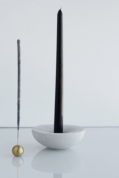 VORTA CANDLESTICK + INCENSE HOLDER