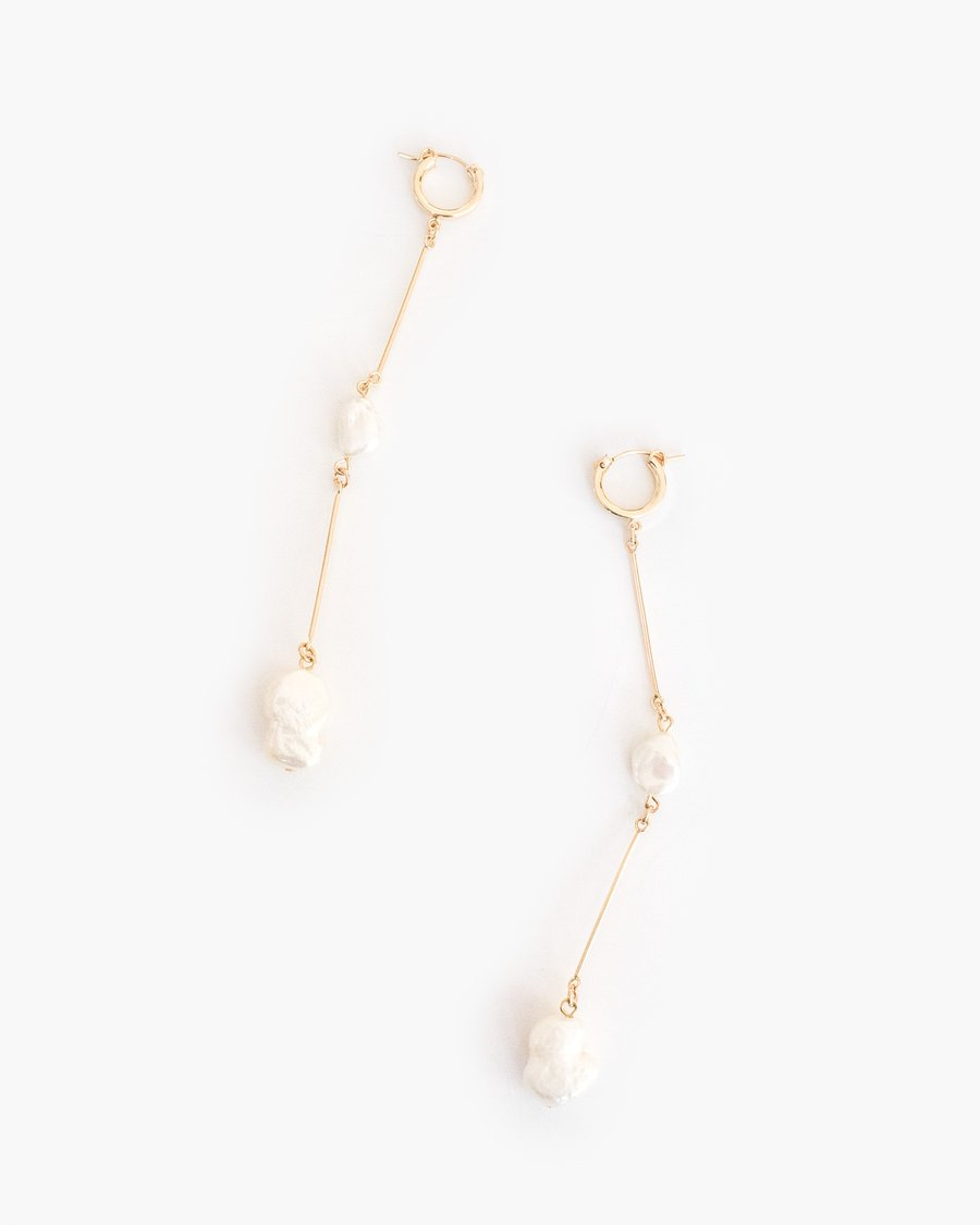 THE DOUBLE-JOINTED DROP EARRINGS