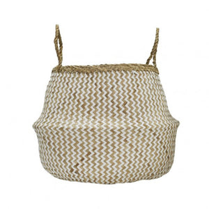 ZIG ZAG BELLY BASKETS