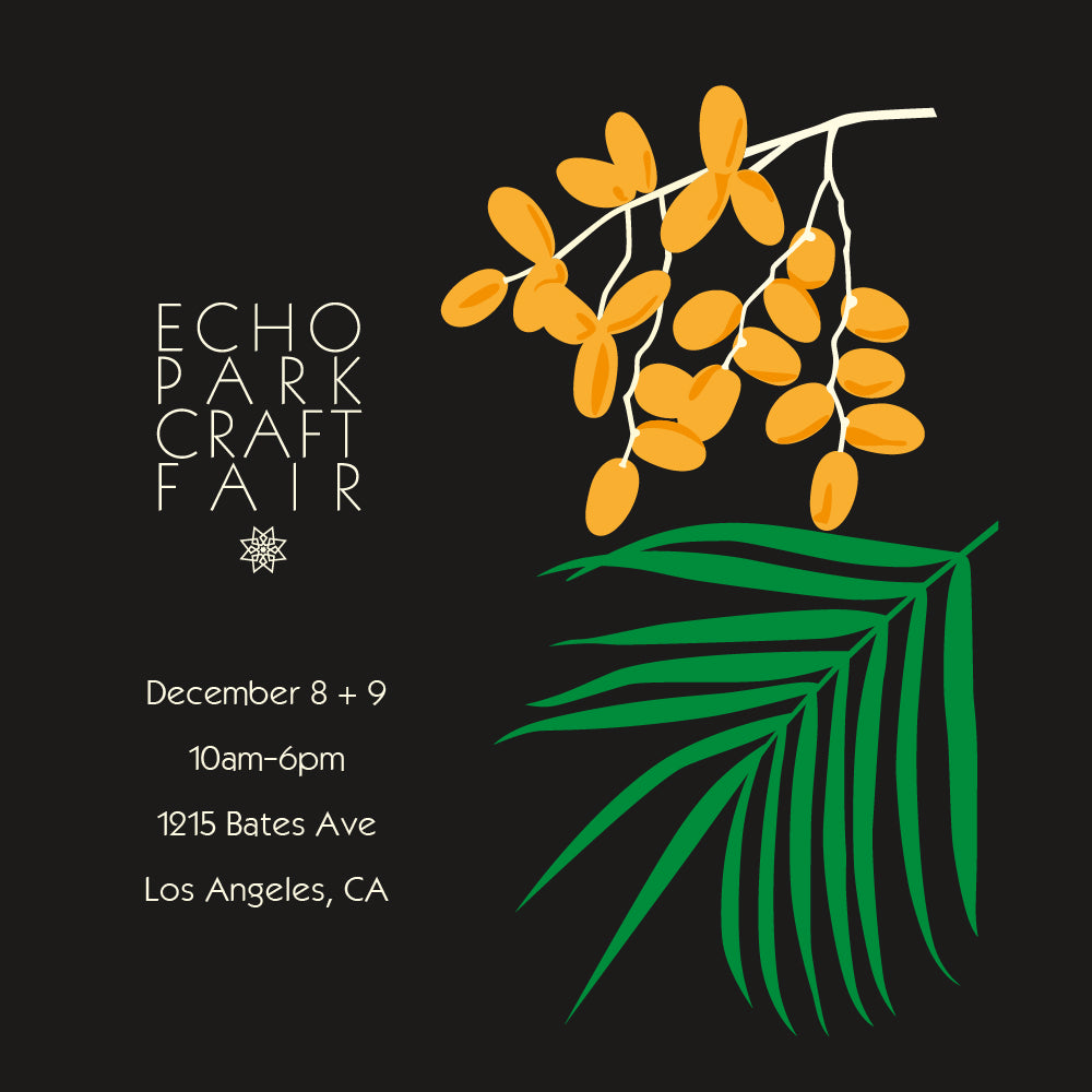 ECHO PARK CRAFT FAIR // HOLIDAY 2018