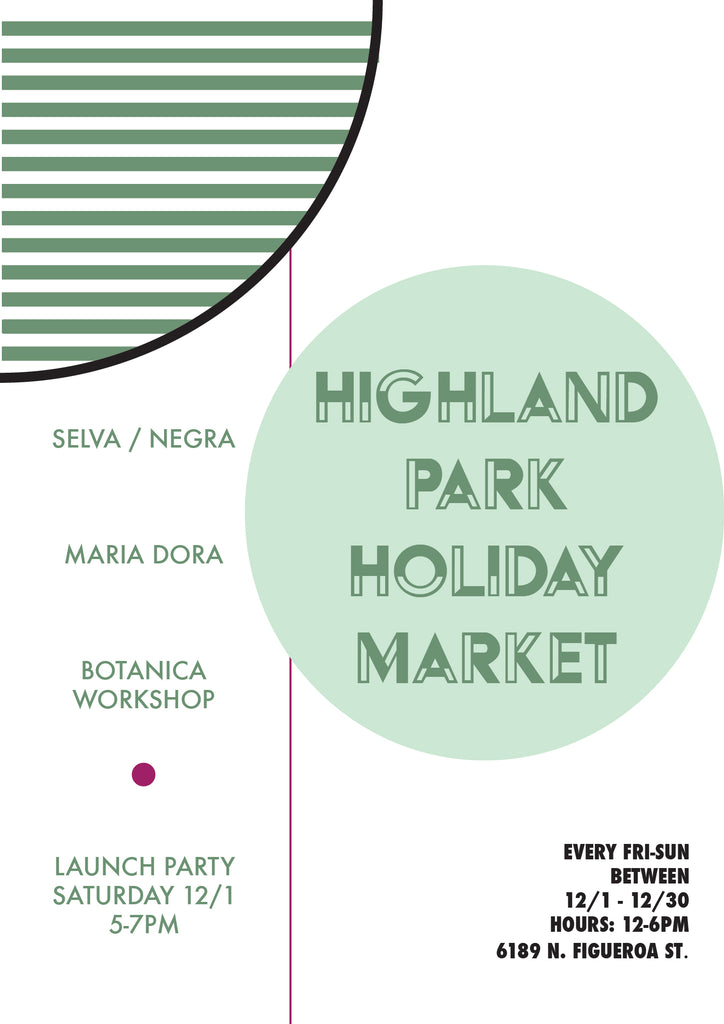 HIGHLAND PARK HOLIDAY MARKET // December 2018