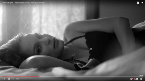 Natalie Portman in Botanica Workshop, James Blake music video