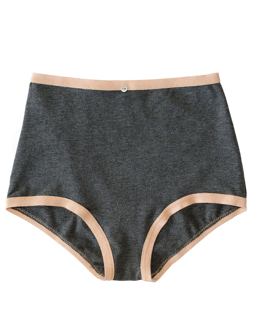 Astra Hi-Waist Brief- Granite