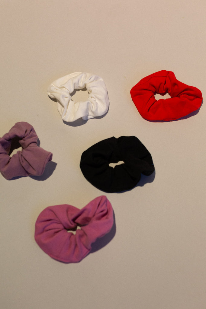 Zero Waste Scrunchie- Organic Cotton- Petal