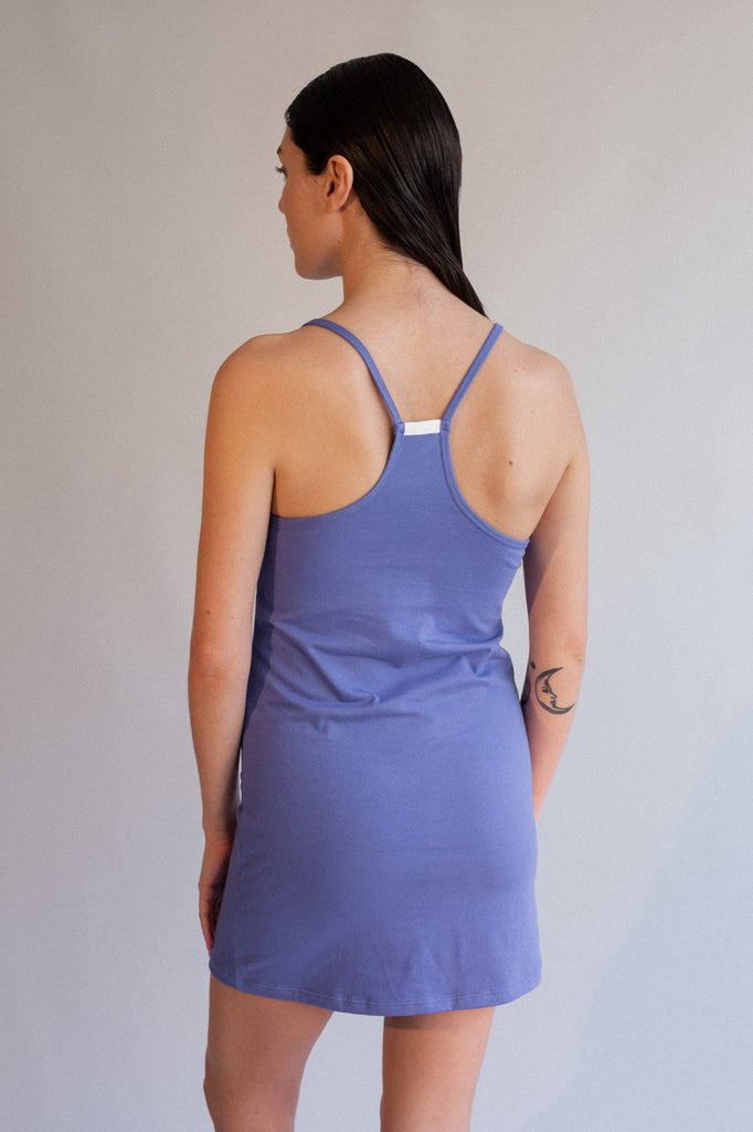 Daisy Cami Dress - Iris - Organic Cotton