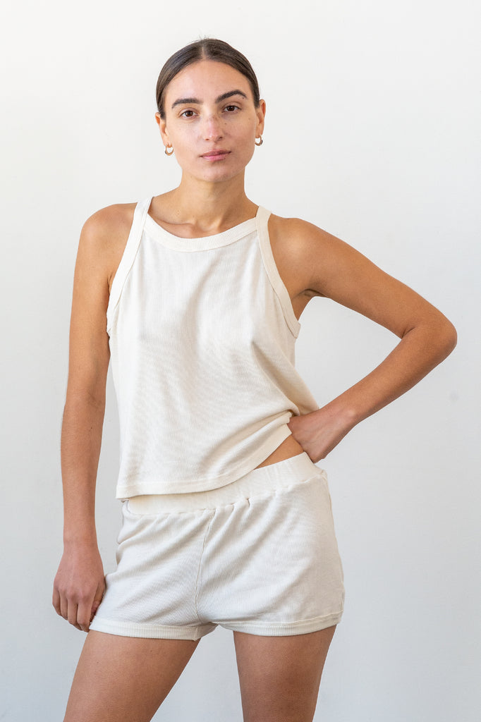 Renata Top - Natural- Organic Cotton