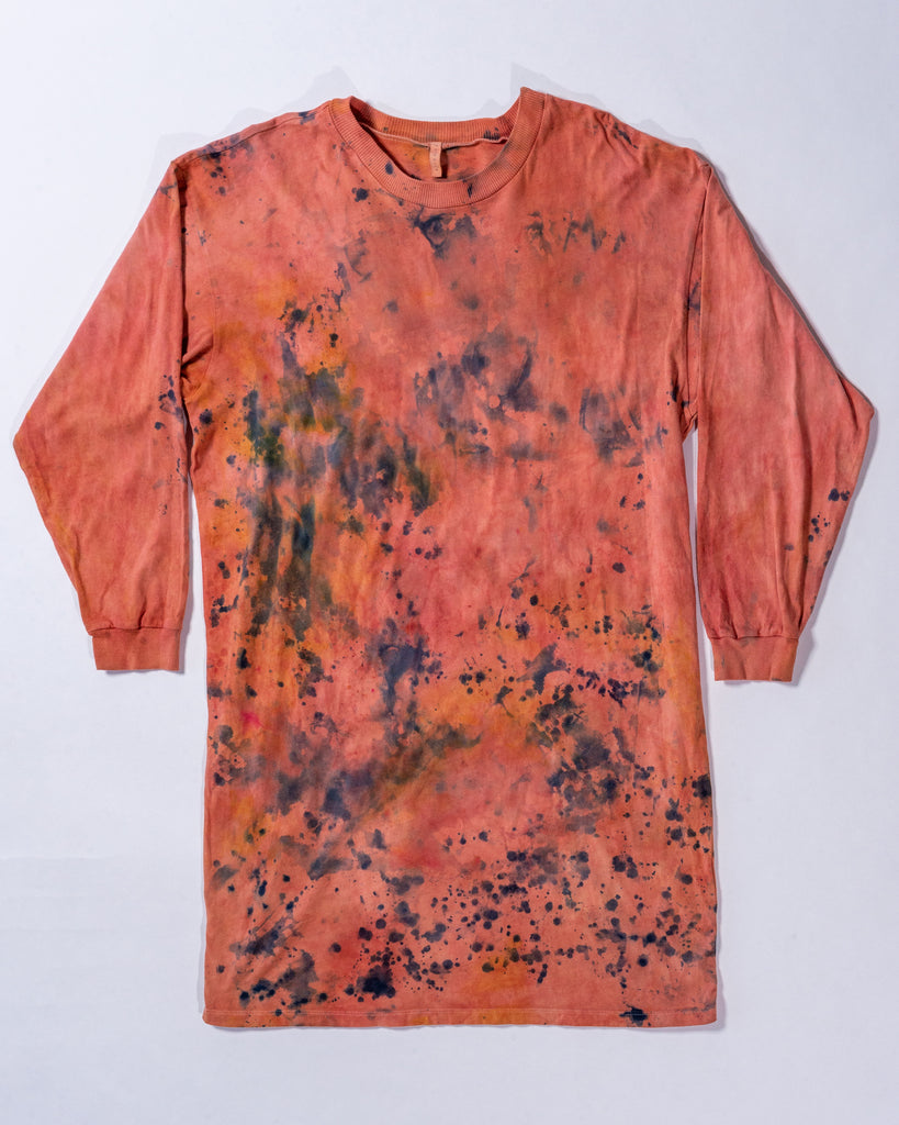 Hand Dyed Lounge Tee - Organic Cotton - Small/Medium