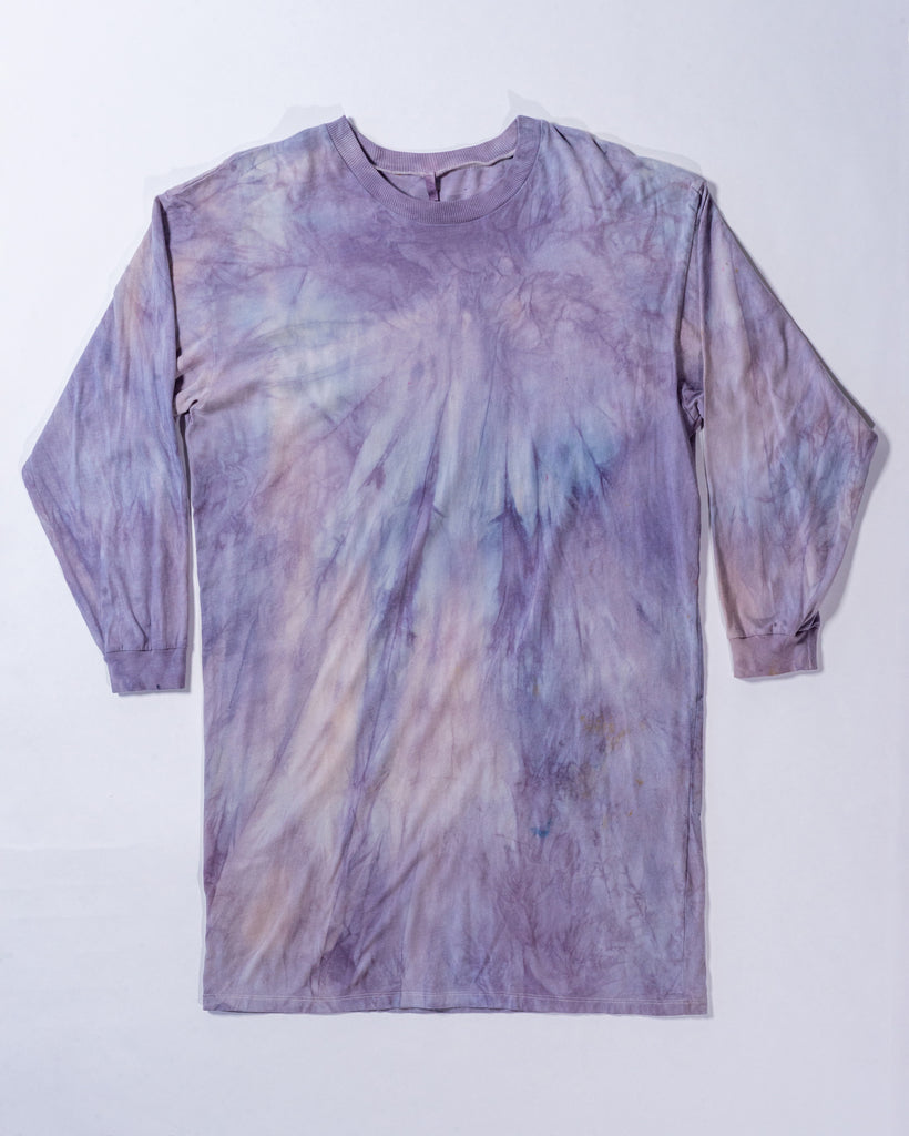 Hand Dyed Lounge Tee - Organic Cotton - Small/Medium-botanica workshop