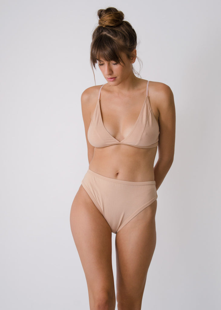 Rosa Brief - Petal - Organic Cotton
