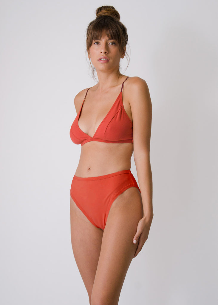 Rosa Brief - Goji - Organic Cotton
