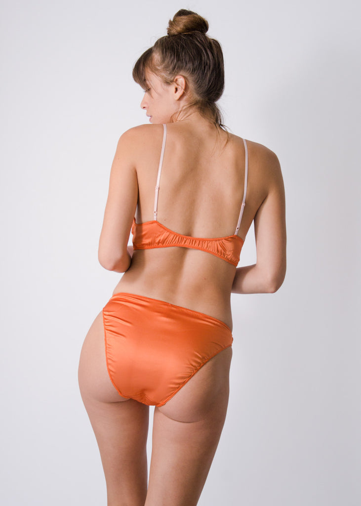 Rio Brief- Sunset- Stretch Silk