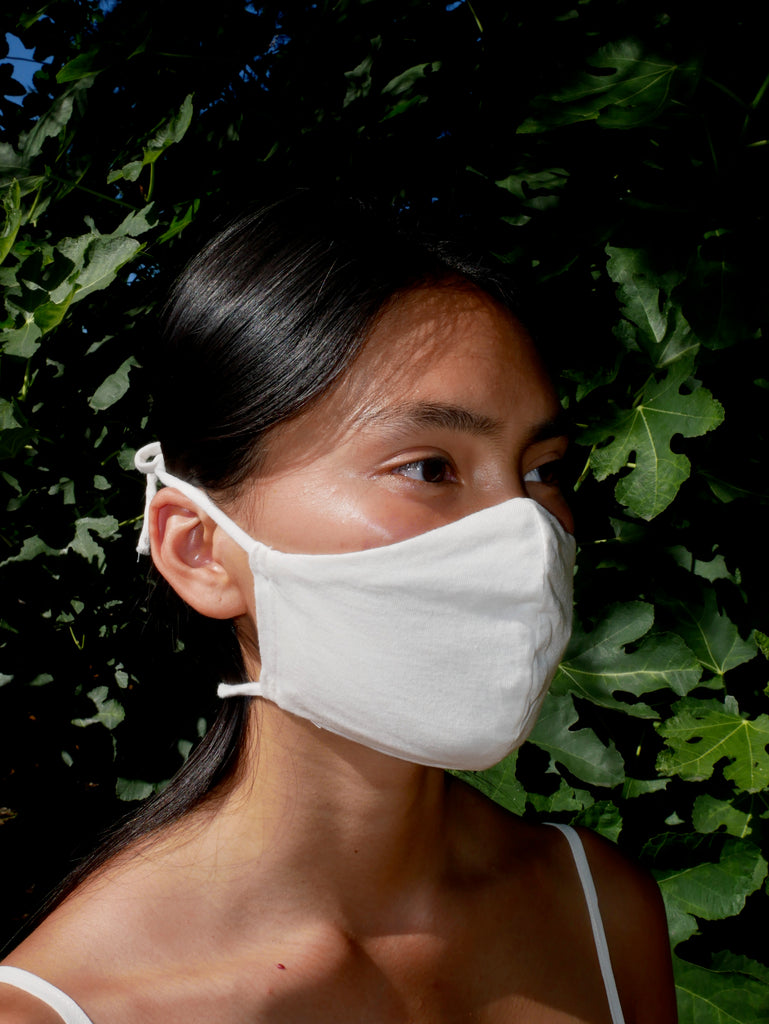Zero Waste Tie Mask - NATURAL - Pack of 5