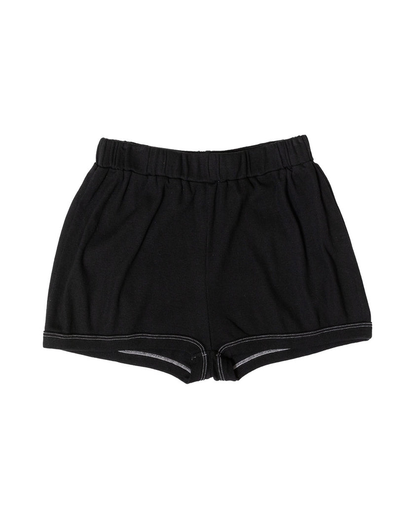 Robi Shorts - Black- Organic Cotton