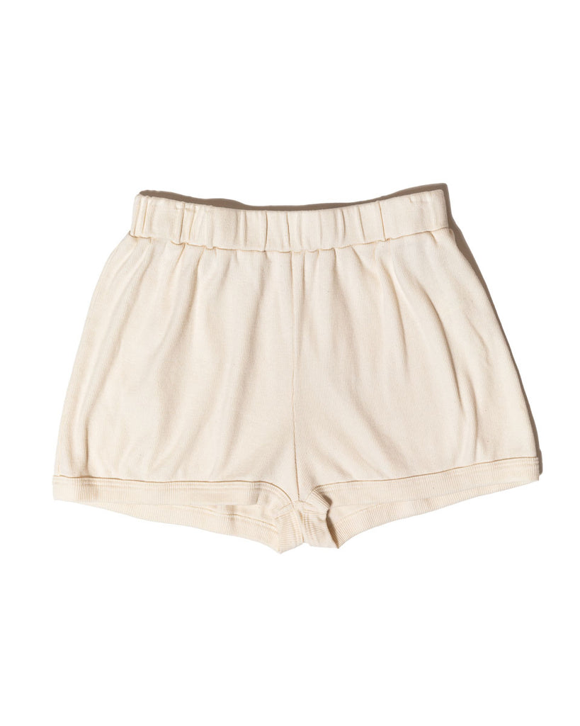 Robi Shorts - Natural - Organic Cotton