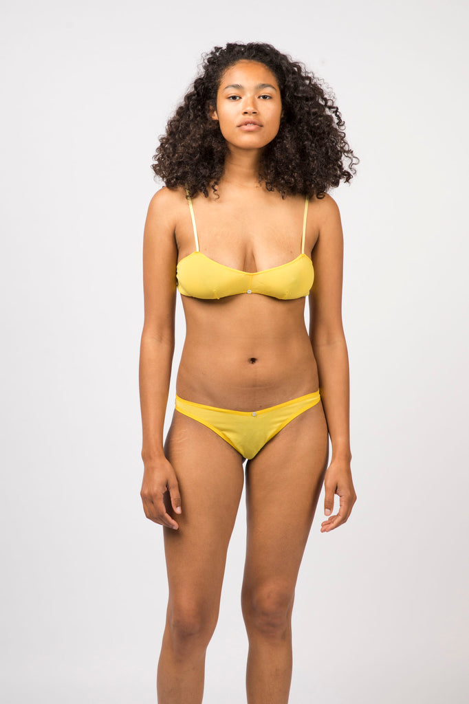Romy Bralette- Yuzu - Stretch Silk
