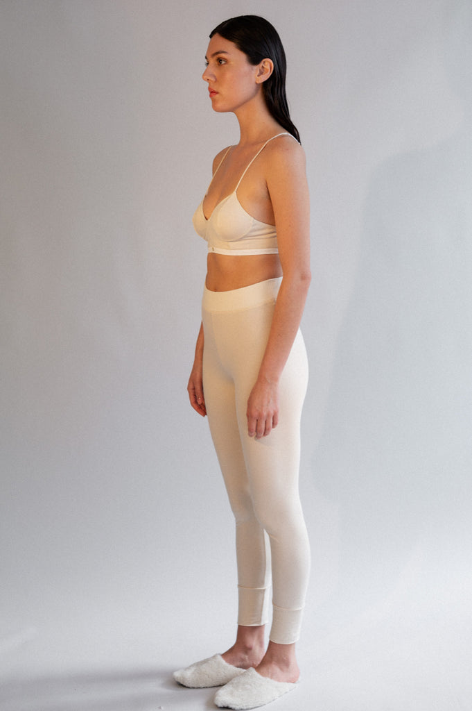 Conchi Leggings - Organic Cotton - Natural