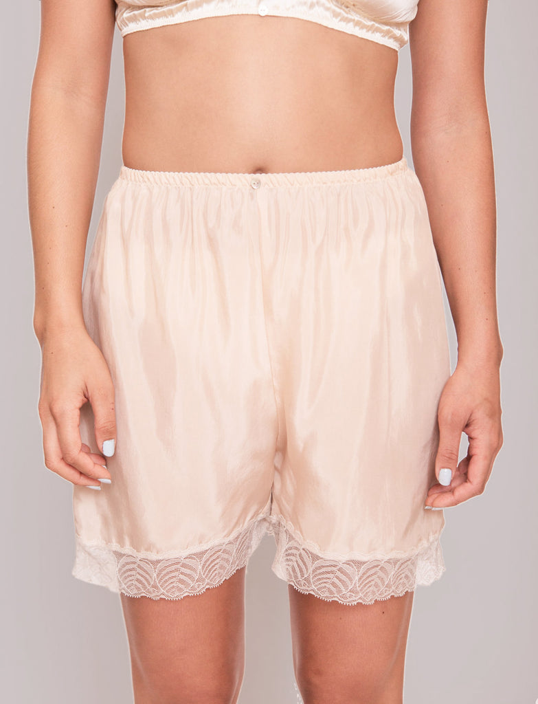 Billie Midi Shorts- Rosato - Cupro Vegan Silk