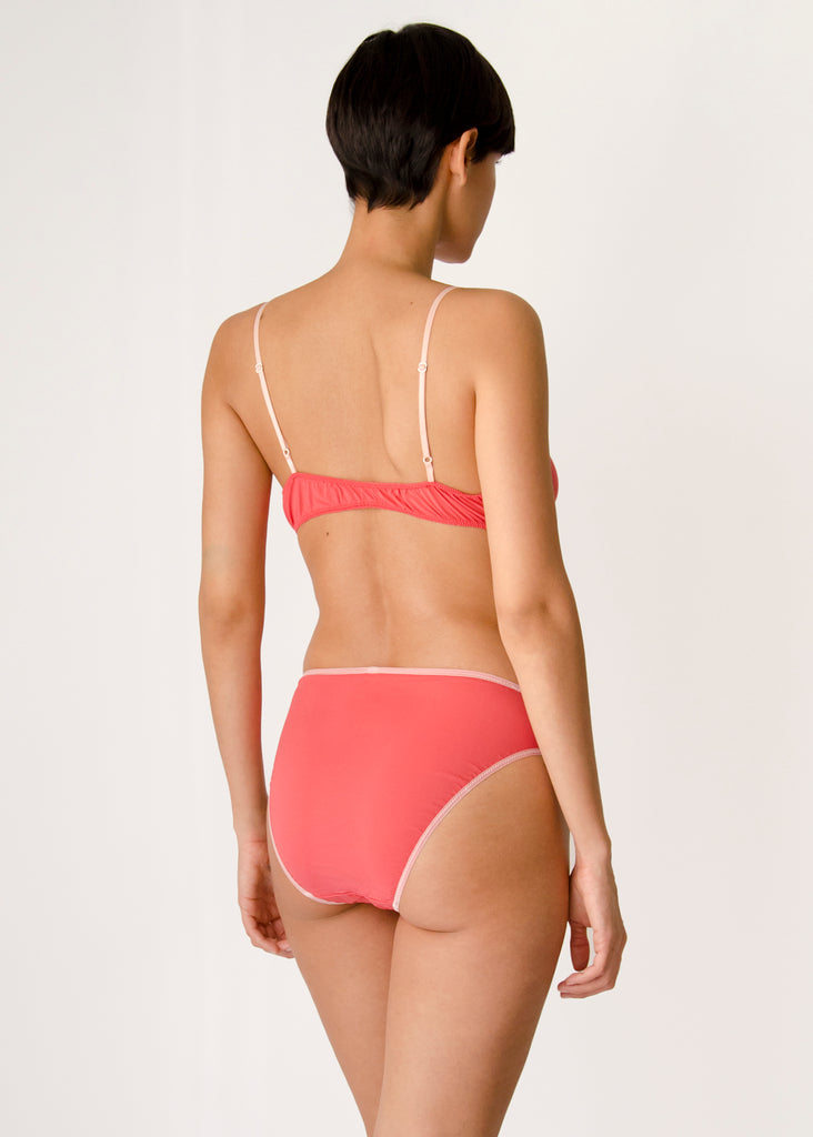 Rio Brief- Camellia- Stretch Silk