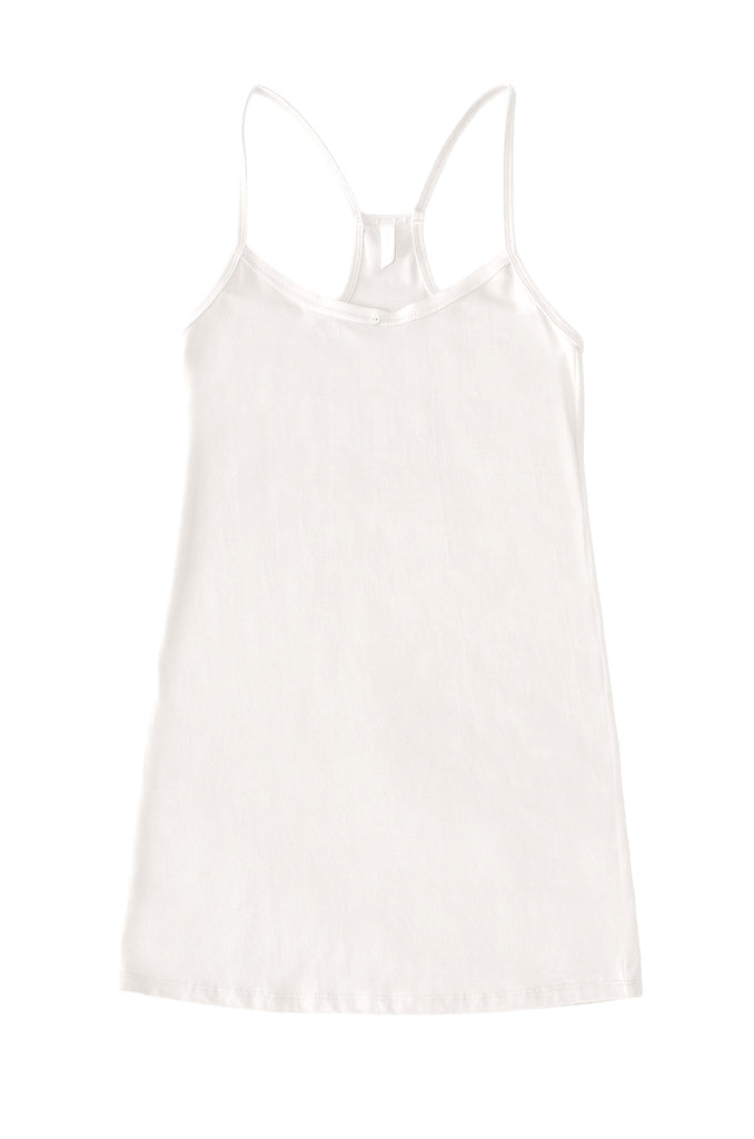 Daisy Cami Dress - White - Organic Cotton