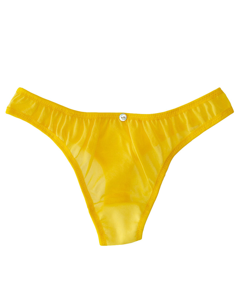 Helia Thong - Yuzu - Stretch Silk