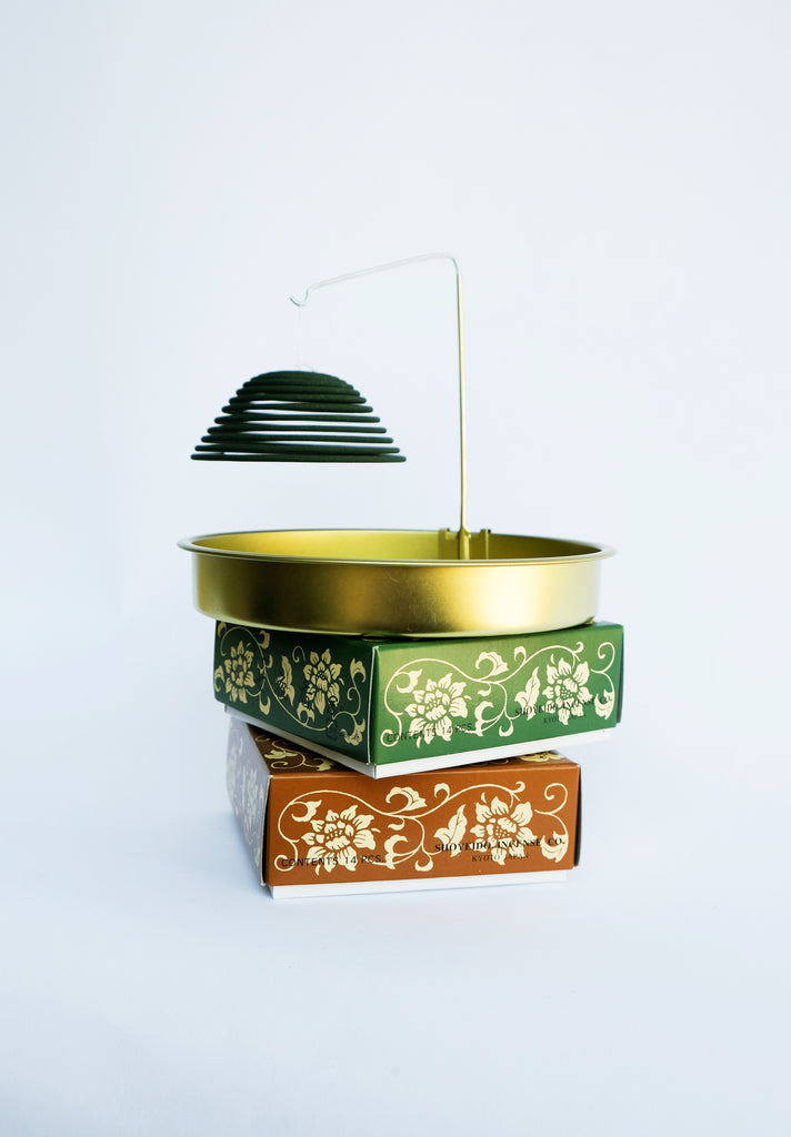 Floating Incense Coil Holder by Shoyeido