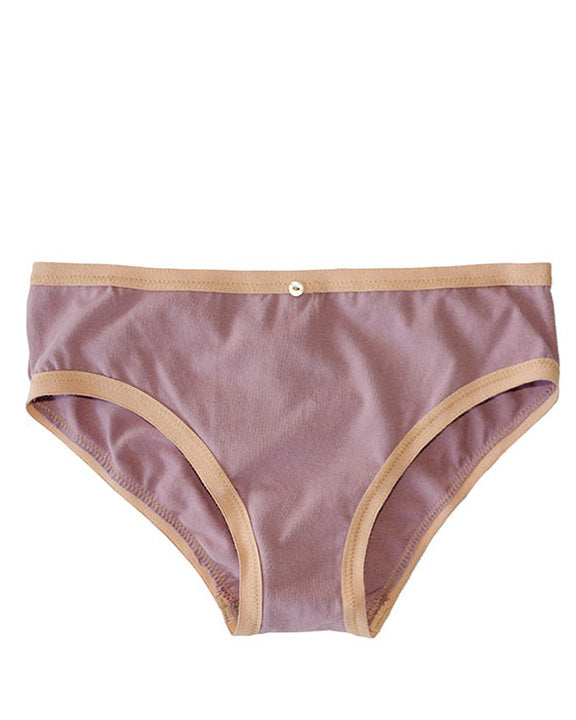 Lila Bikini Brief- Amethyst - Organic Cotton