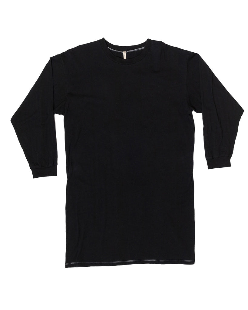 Lounge Tee- Black- Organic Cotton