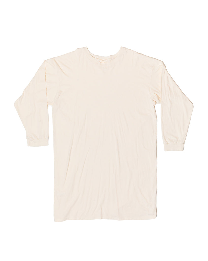 Lounge Tee - Natural- Organic Cotton