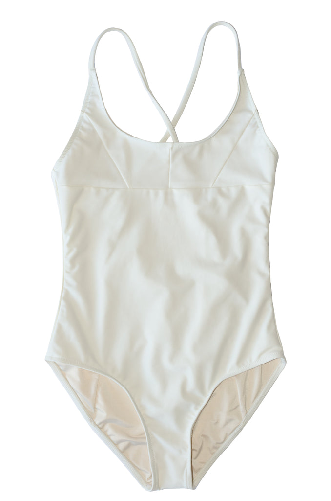 Nami Swimsuit- Shell- Recycled Nylon