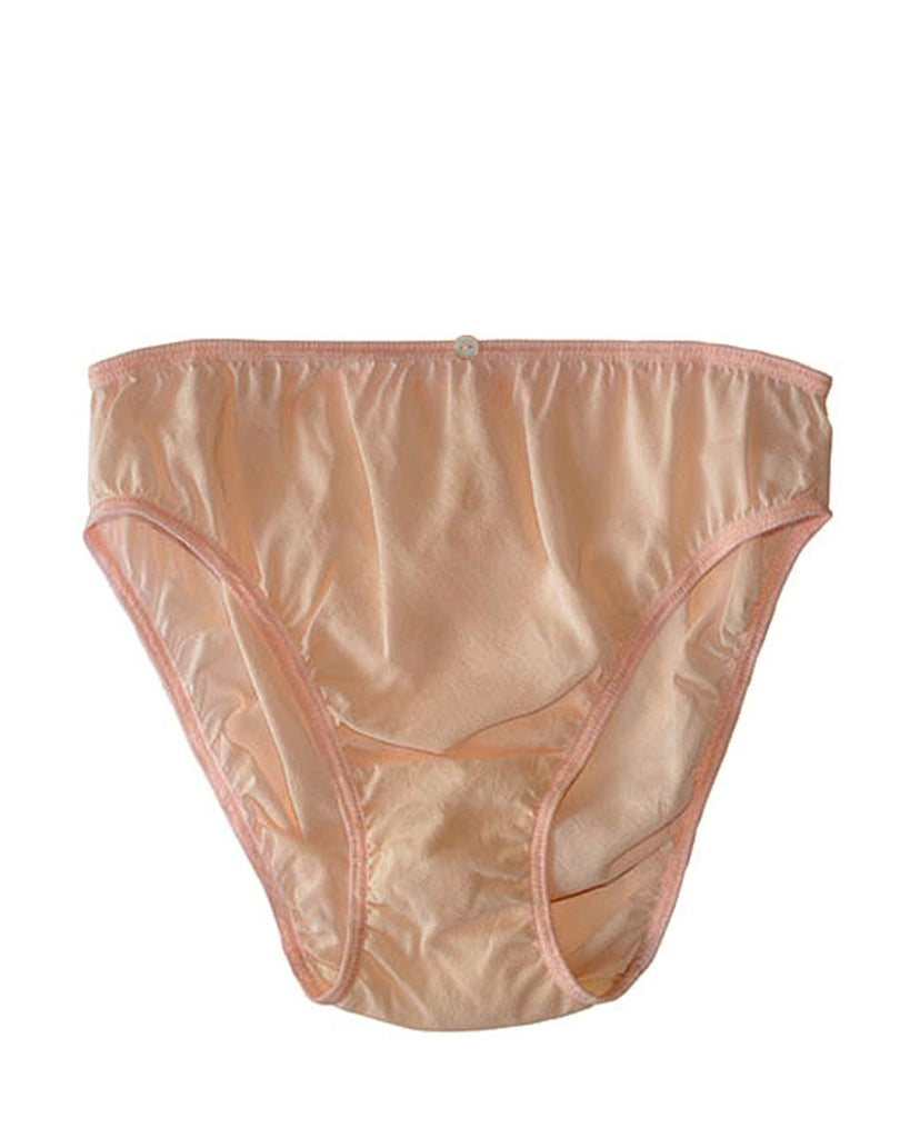 Rio Brief- Pink- Stretch Silk