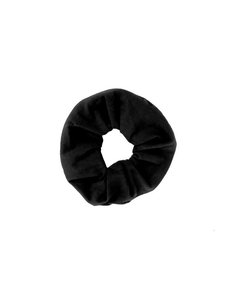 Zero Waste Scrunchie- Organic Cotton- Black