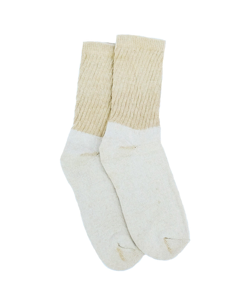 Organic Cotton Crew Socks, 1 Pair, Green