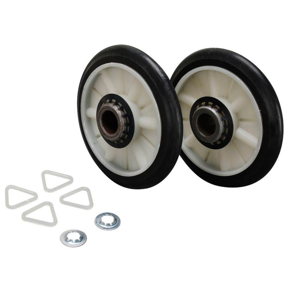 Rear Drum Support Roller Kit for Whirlpool WED5590SQ0 Dryer