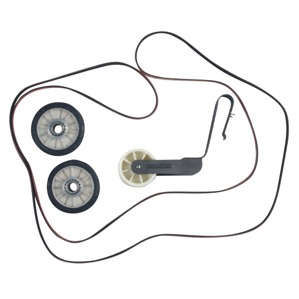 Dryer Belt, Pulley & Roller Repair Kit for Whirlpool
