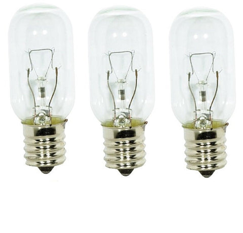 3 Pack Light Bulb For General Electric Jvm1650sb004
