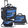 "3 Piece Tool Bag Set, 18"" Roller, 16"" & 13"" Wide Mouth Bags"