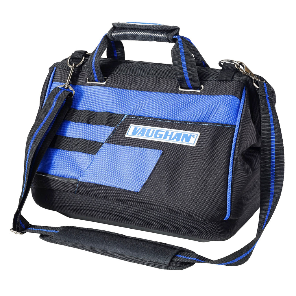 Vaughan 16 in. Wide Mouth Tool Bag