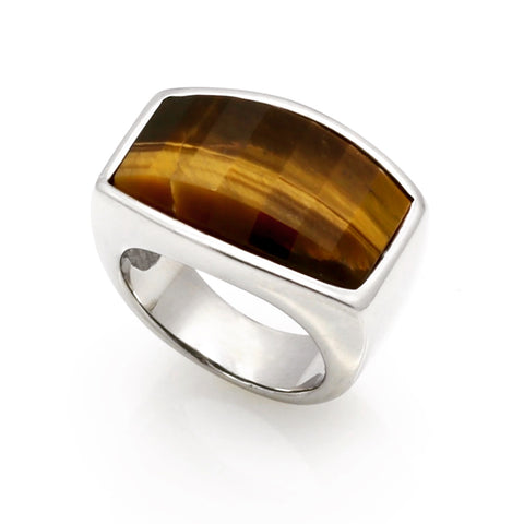 Men's Tigers Eye Ring