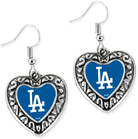 Dodgers Dangle Earrings