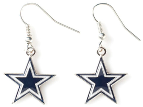 Cowboys Logo Dangle Earrings
