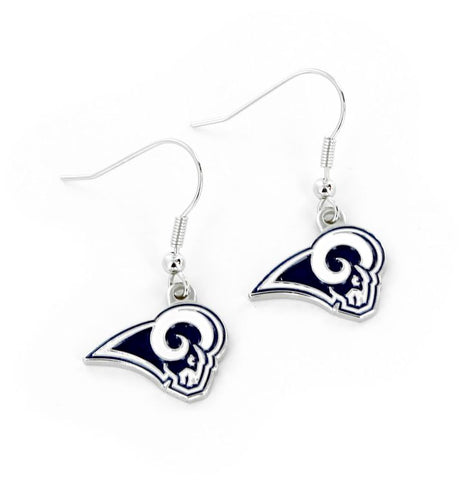 Rams Logo Dangle Earrings